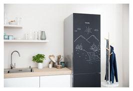 Miele Stand-Kühl-Gefrierkombination KFN 29283 D bb, in exklusiver Blackboard edition mit PerfectFresh und NoFrost, inklusive Lieferung + Montage