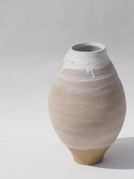"""Vase """"Ecorce"""" Blanc"""