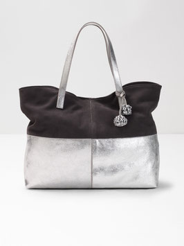 Katy Suede Metallic Tote von White Stuff