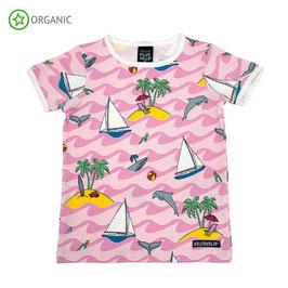 T-Shirt (Delfin rose) von Viller Valla