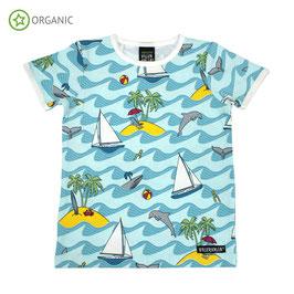 T-Shirt (Delfin blue) von Viller Valla