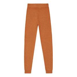 Yuma Baby Knitted Leggins - rusty orange von Sense Organics