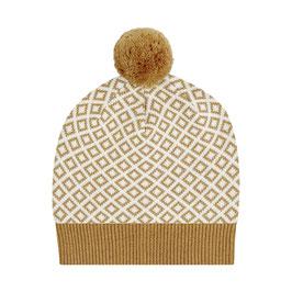 Rudolfo Knitted Hat caramel von Sense Organics