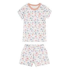 Jula Retro Short Pyjama von Sense Organics