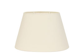 Lampenschirm, creme, oval