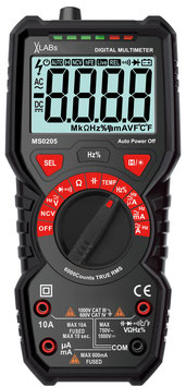 MS0205: VA LABs Digital-Multimeter, 6.000 Counts mit NCV
