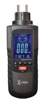 GT0010: VA LABs RCD-Prüfgerät GT0010, 195 - 253 V AC