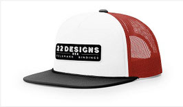 22 Designs Trucker  LOGO Hat