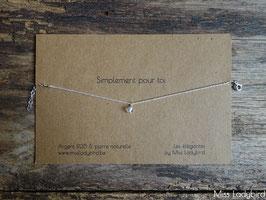 """Bracelet-message """"Simplement pour toi"""""""