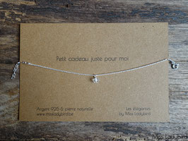 """Bracelet-message """"Petit cadeau juste pour moi"""""""