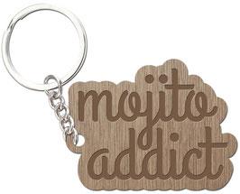 MOJITO ADDICT LES PETITS MOTS PORTE CLÉS