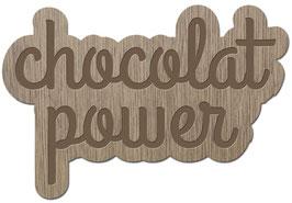CHOCOLAT POWER LES PETITS MOTS