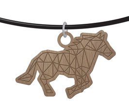 CHEVAL ORIGAMI COLLIER