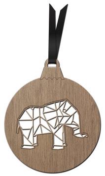 ELEPHANT ORIGAMI DÉCORATION À ACCROCHER