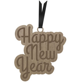 HAPPY NEW YEAR LES PETITS MOTS DÉCORATION À ACCROCHER