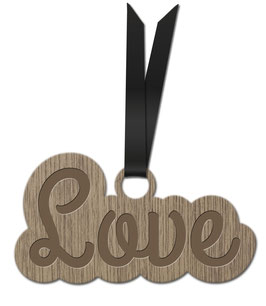 LOVE LES PETITS MOTS DÉCORATION À ACCROCHER