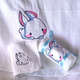 Tier Handtuch