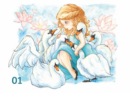 Märchenpostkarten