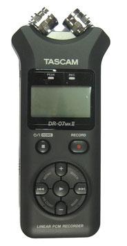 Tascam Aufnahmegerät DR07