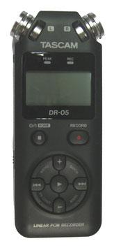 Tascam Aufnahmegerät DR05