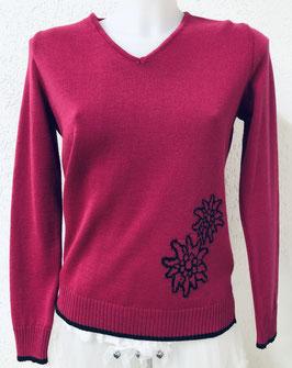 Damenpullover Edelweiss Pink