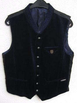 Herrengilet nachtblau/schwarz