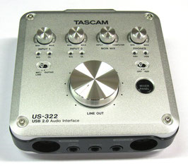 Tascam USB Audio/Midi Interface