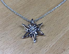 Halskette mit Edelweiss-Anhänger