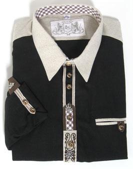 Trachtenhemd schwarz