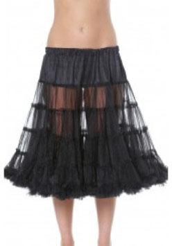 Petticoat schwarz 70cm