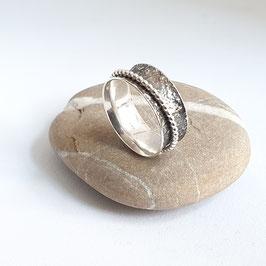 Zilveren Draairing / Spinner ring
