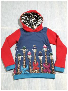 Hoodie Sweater Giraffen