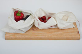 Bio Baumwollbeutel Set - unverpackt einkaufen