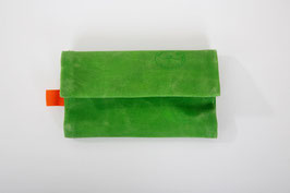 Tabaktasche LIME    waxed cotton good look