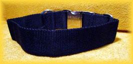 HALSBAND MIT ALUSTECKSCHLIESSE, 25mm
