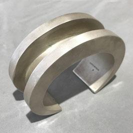 PARTS OF FOUR : Crescent Channel Bracelet (30mm, AS) US SIZE=S
