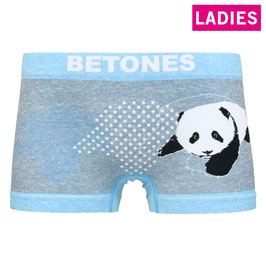 BETONES : [LADIES] ANIMAL4 Col.L-BLUE(パンダ)