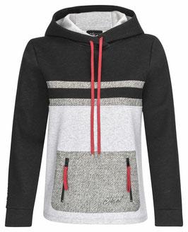 Damen Sweater mit Lodenbesatz
