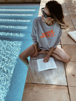 """Hey Soho Sweater """"never perfect #alwaysawesome"""""""