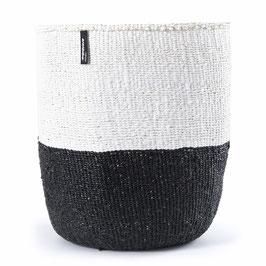 Großer Korb - schwarz & weiß