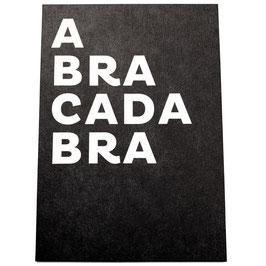 ABRACADABRA -Karte