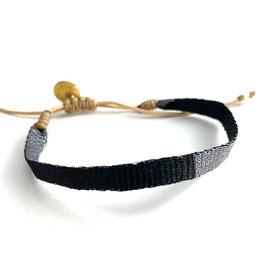 Armbändchen - grau schwarz