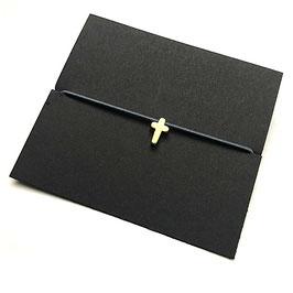 Armbändchen mit kleinem Kreuz