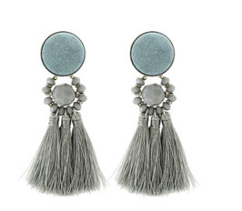 Tassel me up grey