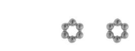 Tiny dots silver