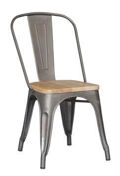 Silla TEREK WOOD (Inspiración silla Tolix de Xavier Pauchard)