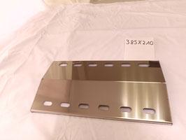 385 mm x 210 mm x 1mm Flammenverteiler / Flammenabweiser
