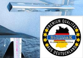 574 mm x 64 mm Edelstahl Flammenverteiler Mit Kiemen