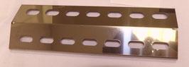 330 mm x 105 mm x 1 mm V4A Spiegel poliert Edelstahl Flammenverteiler