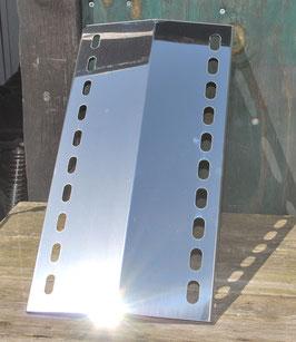 Anfertigung 520 mm x 160 mm Edelstahl Flammenverteiler
